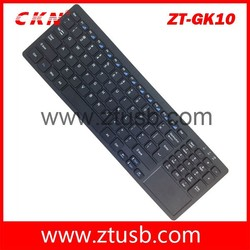 Best selling 2.4 G wireless computer keyboard with touchpad from alibaba
