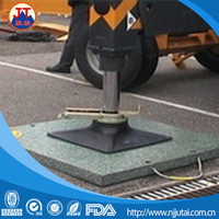 2015 plastic black UHMWPE crane outrigger mat