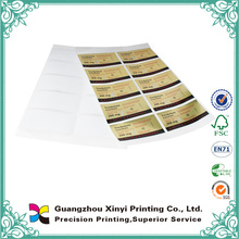 2015 High quality professional printed custom vinyl water proof sticker