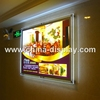 Acrylic Transparent Frame Slim Advertising LED Light Box