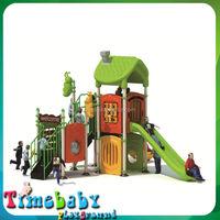 Plastic Swing set of outdoor playground Equipment,wooden outdoor playground play set for kids