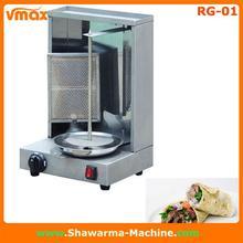 Aprobación del CE de la cocina Doner máquina quemador de gas por infrarrojos