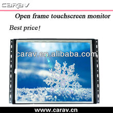 12 inch open frame lcd monitor supports WIN9X,2000,ME,CE/UNIX WIN9X,2K,XP,CE,UNIX operation system