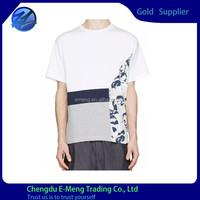 New Design Famous Logo Print Custom Fashion Garments Men