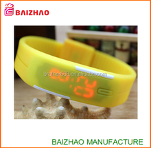 2015 cheap waterproof new design hot Touch Digital Jelly Silicone Bracelet LED Sports Wrist Watch for Women Men Watch