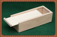2014 new design hot sell Wooden Packaging Tray with sliding lid for Sale