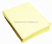 100% PP Melt Blown Non woven chemical absorbent pads