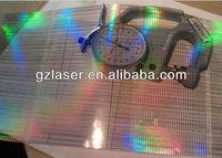 Hologram hard coating pet film