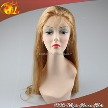 Factory price 100% virgin remy so long 613 platinum blonde hair wig