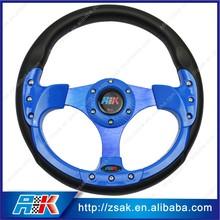 PU colored steering wheel universal steering wheel