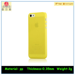 Eco-friendly Recycled cell phone case packing for iphone 5 5S