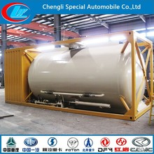 2015 New hot sale pressure vessel 20ft 40ft LPG tank container
