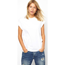women white tshirt with short sleeves wholesale