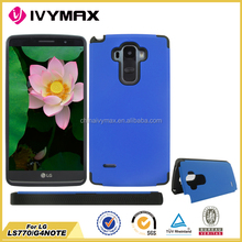 fancy case conch combo for LG LS770 TPU+PC accessory phone case