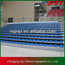 JY-706 basquetebol branqueador /basketball bleacher seating retractable chair for sports