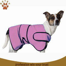 2015 hot sale microfiber dog bathrobe cute duck pattern clothes wholesale