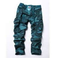 2014 fashion new mens camouflage cargo pants latest style men pants