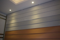 waterproof fiber cement External siding board /wood grain wall panel