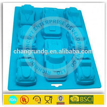 round silicone mold for soap