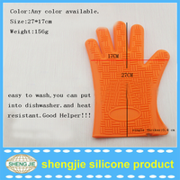 2015 New design for Man Wholesale Silicone Heat Resistant bbg gloves for baking