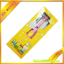 Flexible kids musical electric toothbrush