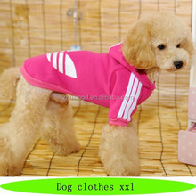 Hot sale dog clothes xxl, clover clothes for pets, customized pet heater for clothes