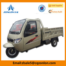 350cc Truck Cargo Tricycle 3 wheel Car With Closed Cabin