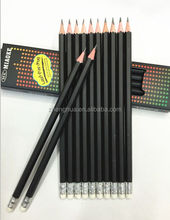 Zhejiang cheap HB pencil with rubber eraser