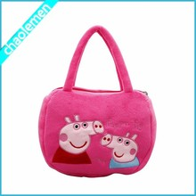 2015 Pink Pig pig bag lovely kids totes bags handbags