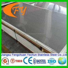 Prime quality and best price for 304 stainless steel plate square meter price