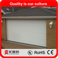 Garage door waterproofing and insulated from alibaba china supplier