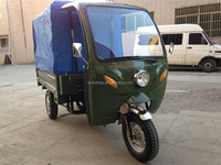 Cargo use best sell 200CC Motorized Tricycle with roof