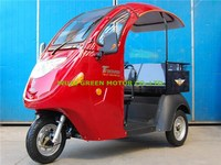 tuk tuk electric tricycle 3 wheel scooter with roof