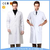 Custom Hospital Staff Uniform 100% Cotton Doctor's Hospital Gown Hot Selling