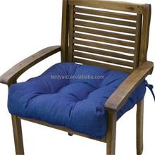 Square blue home fashions outdoor chair cushion comfort cushion