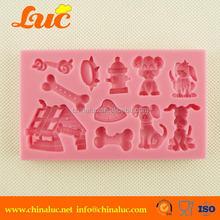 Lsm039 Cake Cupcake Decorating Tools Fondant Dog Mold