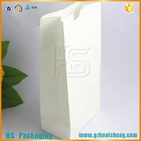 Eco-friendly customized thermal greaseproof snack food delivery lunch box paper bag