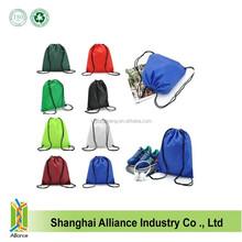 OEM Cheap Polyester Blank Drawstring Bag,Blank Drawstring Backpack