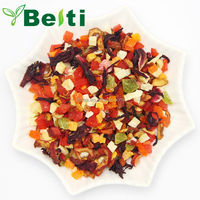 Chinese dried fruit flavored tea , natural flower and fruit tea