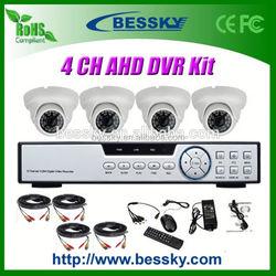 Top selling cheap AHD Dome cctv camera kit security camera Kits 720p mini hidden 808 car keys micro camera