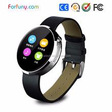 2015 New Intelligent Bluetooth pedometer intelligent Bluetooth Smart Android Watch Phone Waterproof Smart Watch