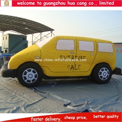 Advertising inflatable car model, inflatable car replica for trade show