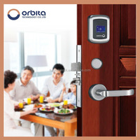 China Free Software rfid key M1 hotel NEW manage hotel system door lock