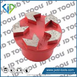 Diamond tool grinding plug for concrete