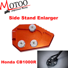 Motoo - Motorcycle parts full CNC aluminum Side Sand Enlarger For honda CB1000R 2008-2015
