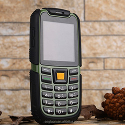 cheapest waterproof rugged phone 2.4 inch no touch screen feature phone