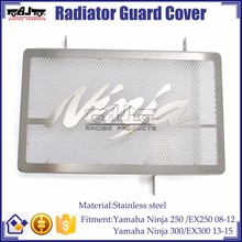 BJ-RG-KA001 Brand new Radiator Stainless Steel Guard Cover For Kawasaki NINJA EX 250 300