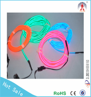 3M Super Flexible Neon Light Glow EL Wire Rope Tube Car Dance Party Cool