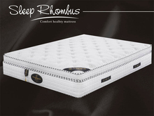 China Product Natural Latex Roll Mattress With Pocket Coil Spring