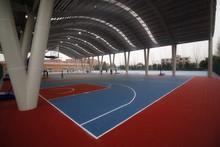 Modular Indoor and Outdoor Basketball Court Sports Flooring Mat